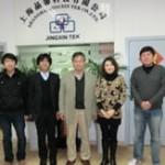 上海代理店のメンバーです。