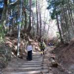 大阪と奈良の県境にある金剛山(1125m)は山頂まで約1時間