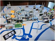 尼崎市の銭湯配置図。私は46軒の内7軒制覇。兵庫県下全湯制覇の人もおります。
