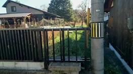 防護柵をつくってみました。